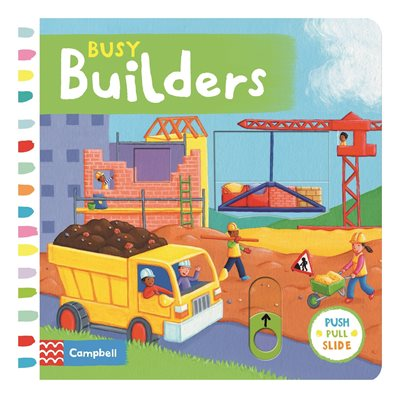 Book cover for Busy Builders