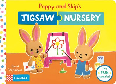 Book cover for Poppy and Skip's Jigsaw Nursery