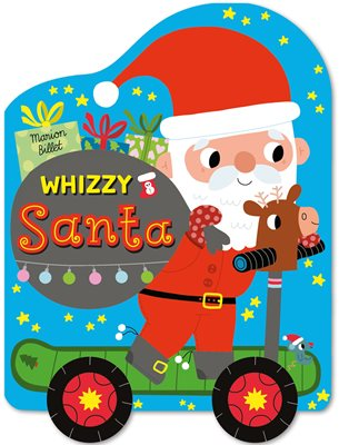 Book cover for Whizzy Santa