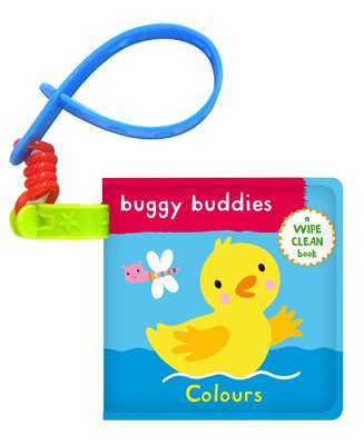 Wipe-Clean Buggy Buddies: Colours