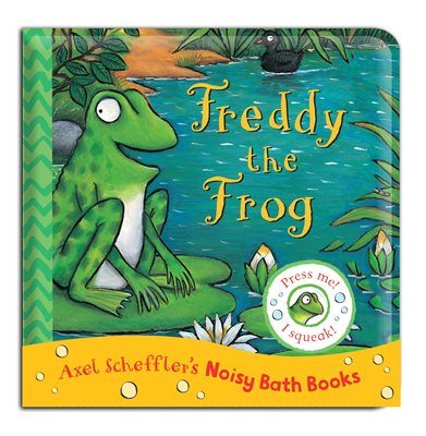Book cover for Freddy the Frog Bath Book