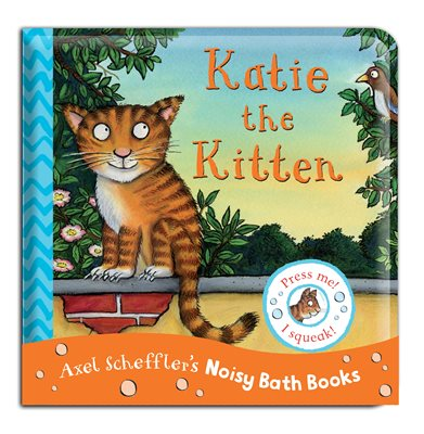 Book cover for Katie the Kitten Bath Book