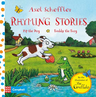 Book cover for Rhyming Stories: Pip the Dog and...