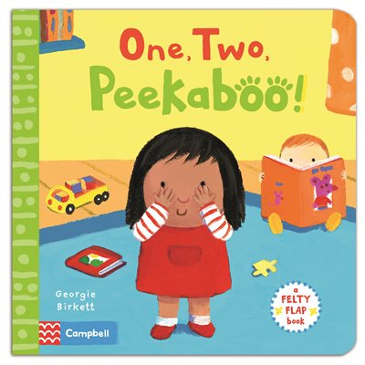Book cover for Felty Flaps: One, Two, Peekaboo!