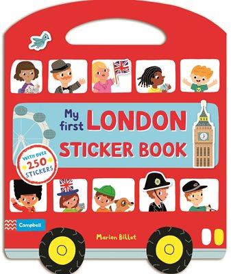 My First London Sticker Book