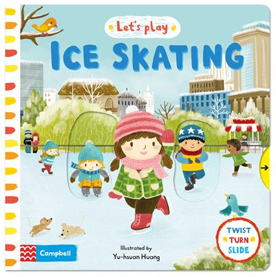 Book cover for Let's Play Ice Skating (CDN)