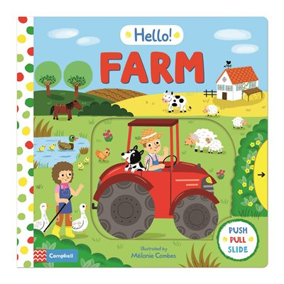 Book cover for Hello! Farm