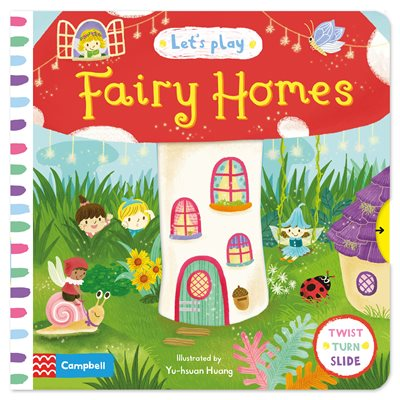 Book cover for Let's Play Fairy Homes