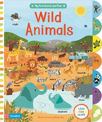 Book cover for Wild Animals