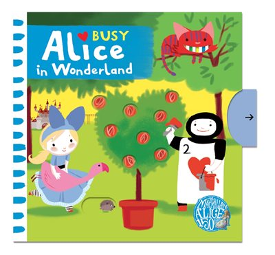 Book cover for Busy Alice In Wonderland