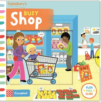 Book cover for Busy Shop
