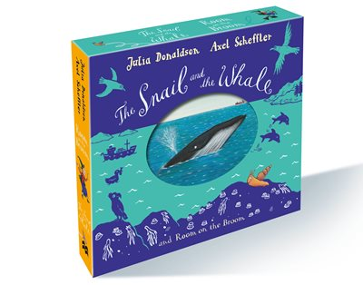 Book cover for The Snail and the Whale and Room on...