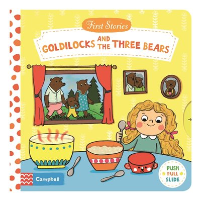 Book cover for Goldilocks and the Three Bears