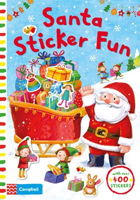 Book cover for Santa Sticker Fun