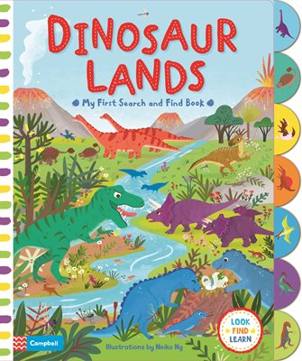 Book cover for Dinosaur Lands