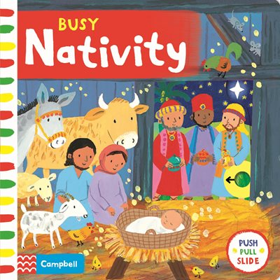 Book cover for Busy Nativity
