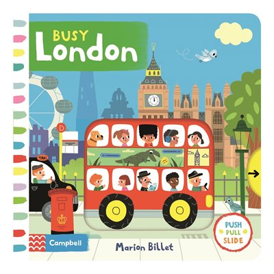 Book cover for Busy London
