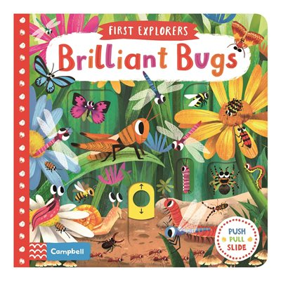 Book cover for Brilliant Bugs