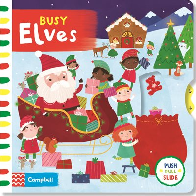 Book cover for Busy Elves
