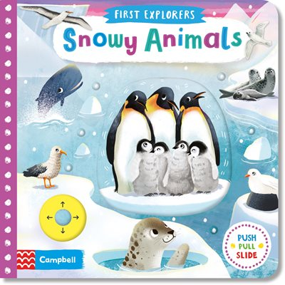 Book cover for Snowy Animals