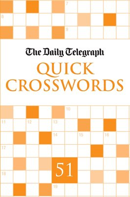Book cover for Daily Telegraph Quick Crosswords 51