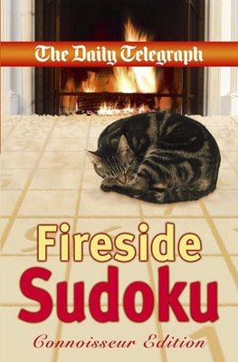 Book cover for Daily Telegraph Fireside Sudoku...