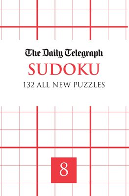 Book cover for daily telegraph Sudoku 8