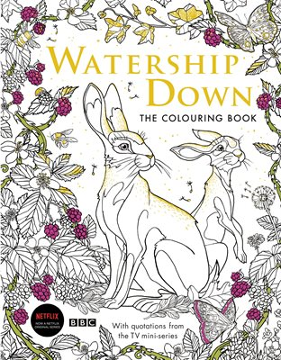 Book cover for Watership Down: The Colouring Book
