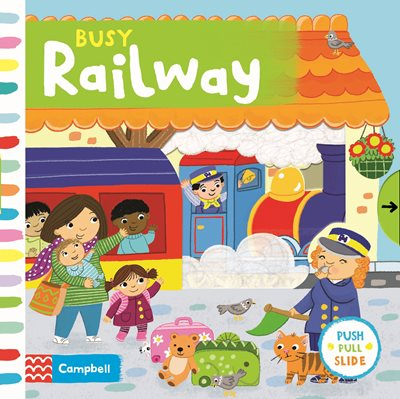 Book cover for Busy Railway