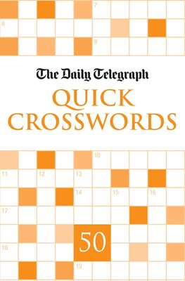Book cover for Daily Telegraph Quick Crosswords 50