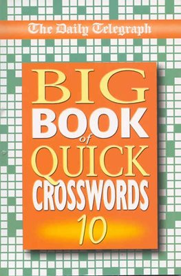 Book cover for Daily Telegraph Big Book of Quick...