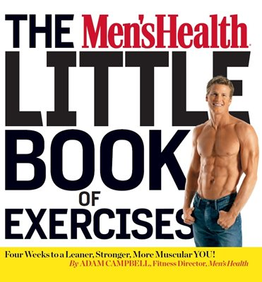 Book cover for The Men's Health Little Book of Exercises