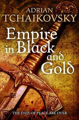 Book cover for Empire in Black and Gold