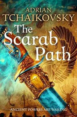 Book cover for The Scarab Path