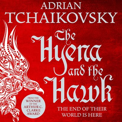 Book cover for The Hyena and the Hawk