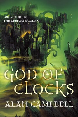 Book cover for God of Clocks