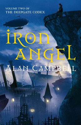 Book cover for Iron Angel