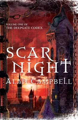 Book cover for Scar Night