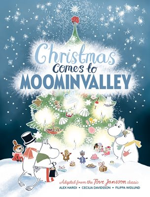 Book cover for Christmas Comes to Moominvalley