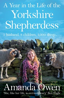 Book cover for A Year in the Life of the Yorkshire Shepherdess