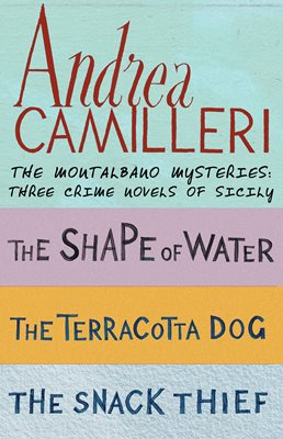 Book cover for The Montalbano Mysteries: Three crime...