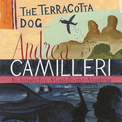 Book cover for The Terracotta Dog