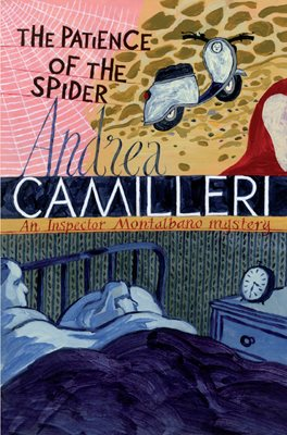 Book cover for The Patience of the Spider