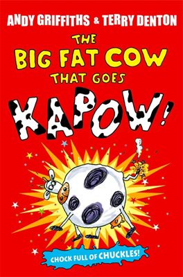 Book cover for The Big Fat Cow That Goes Kapow