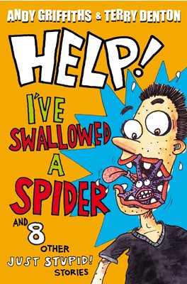 Book cover for Help! I've Swallowed a Spider