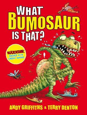 Book cover for What Bumosaur is That?