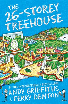 Book cover for The 26-Storey Treehouse