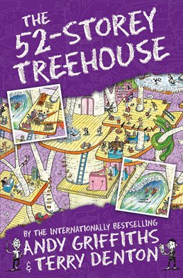 Book cover for The 52-Storey Treehouse