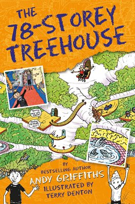 Book cover for The 78-Storey Treehouse