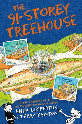 Book cover for The 91-Storey Treehouse